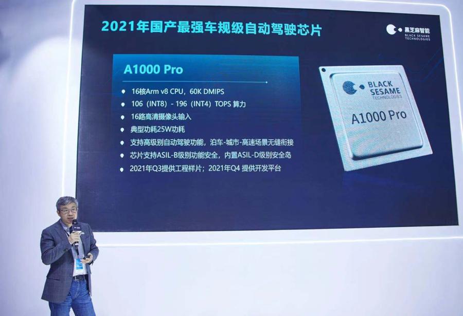 上海车展丨你能看到的国产汽车芯片厂商们都有谁?